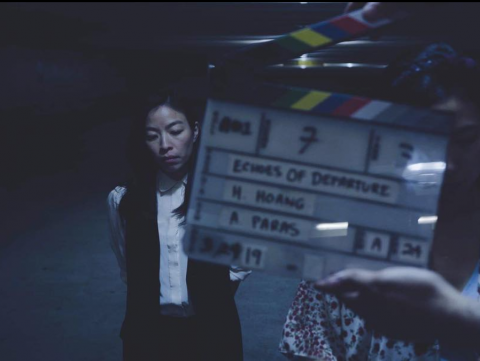 "Completed filming Short Film ""Echoes Of Departure"" 