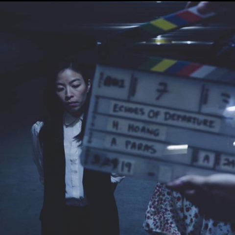 """Completed filming Short Film """"Echoes Of Departure"""" 